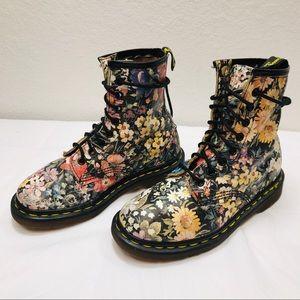 Vintage Women's Doc Martens Pascal floral Boots 3